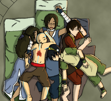 Like A Cuddle of Puppies by LuverzNDFriendz