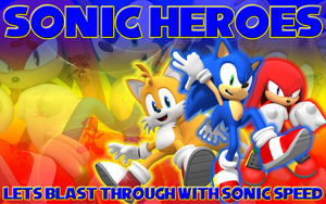 Gift- Sonic Heroes Wallpaper by Supremechaos918