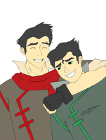 Bros by Icicle1penguin