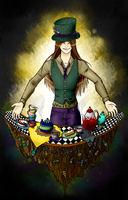 The Hatter by CrimsonPearls