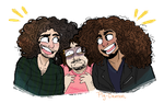 Game Grumps + Coheed and Cambria by Pig-Demon