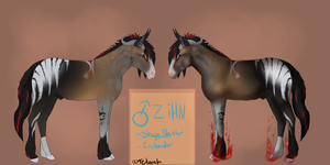 Zihn Reference sheet by Allixi