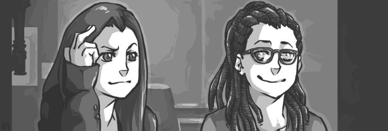 Orphan Black - Sarah and Cosima by T-R-n