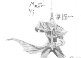 Master Yi Chinese art copy by leirynot