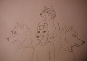 Multiple of Friends by AmericanWolf016
