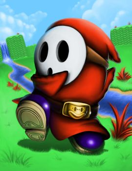 Shy Guy by CryO5