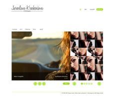 Photography Web Site by vaccieaux