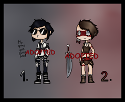 Offer To Adopt: Dream Warriors (CLOSED) by Adopt-From-Frog