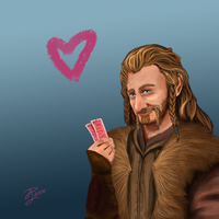Hobbit Valentines ~ Fili by Contraltissimo