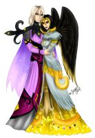 _ Lord Zeo n Lady Prazac _ by Cathrie-Crash