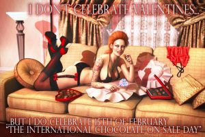 15th Feb - International Day Of Chocolate On-Sale by Trisste-stocks