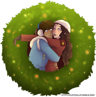A Korrasami Christmas by GreenDorito