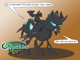 My little Changeling - A day in the fun by Necrath