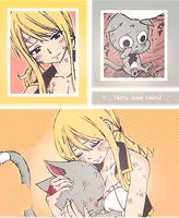 Lucy and Happy by ViViDtoSONE