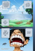 One Piece - Take care of him.. by l-eene