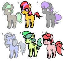 Blank Flank Adoptables by IllegalPharmacy