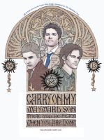 Carry On My Wayward Son by karadin
