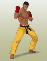 Commission: Street Fighter Sean by R-Legend