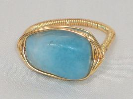 Aquamarine Ring - Size 6 (SOLD!) by ACrowsCollection