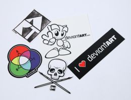 Sticker Pack II by deviantWEAR