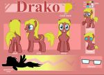 Drako Reference Sheet by Drako1997