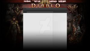 FREE! Diablo III youtube Design by Runningboxdesign