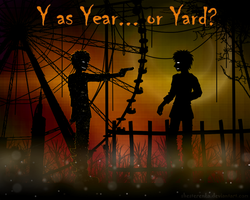 Y as Year... or Yard? by ShesterenkA