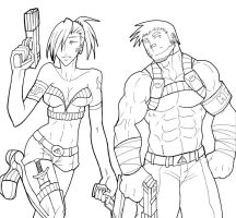 Commando Couple by rhimes1999