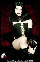 The Black Queen Selene by thealicemalice