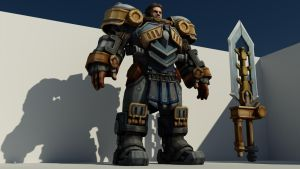 Garen Vray Render1 Texture by M-Craft