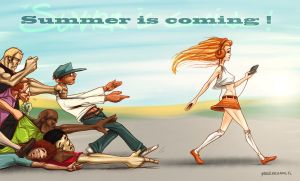 Summer is coming ! by YoulDesign