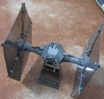 Metal Earth Tie Fighter by aim11