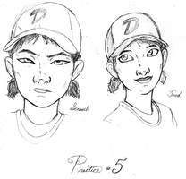 Clementine Practice (5?) with Visual References by DJ-black-n-white