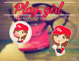 PLAY GIRL 01 by vintashgirl