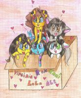 Girls in to the box by ll-Mila-ll