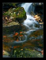 Hidden Waterfall by hamti