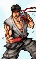 Street Fighter - Ryuu by buuzen
