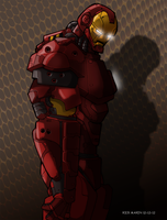 Iron Man by Misterho