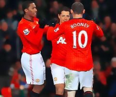 Chicharito n Rooney 1 by Sweet-Tizdale