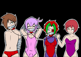 Swimsuit Show Off by argrim