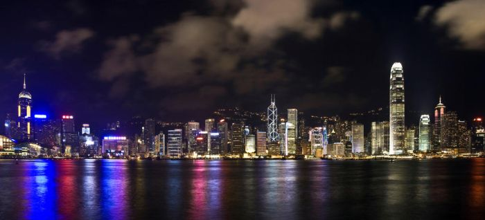 Goodnight Hong Kong III by AndrewToPhotography
