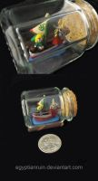 Wind Waker Spice Jar by egyptianruin