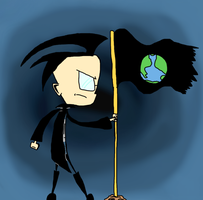 Dib, the Soul Saver of Earth by tallestlizz3421