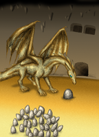 Dragon riders of Pern 4 by FanDragonBall