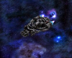 Compact Cruiser Space Blues by eRe4s3r