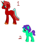 free pony-doptables :open: by Isabelle-Star