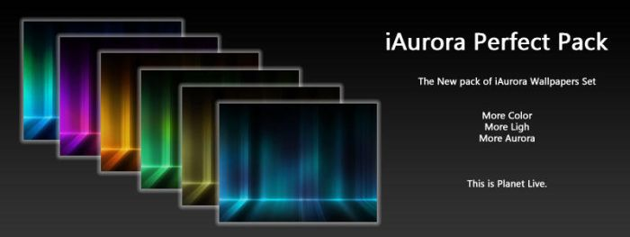 iAurora Perfect Pack by planetlive