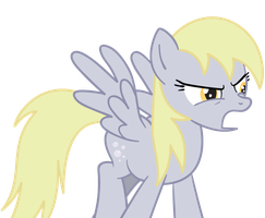 Angry Derpy by Scootaloooo