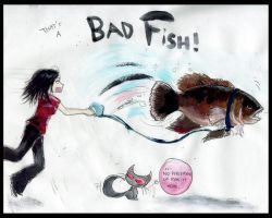 Thats a Bad Fish by lnfectedxangelic