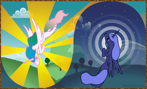 Princesses Banner by Nimaru